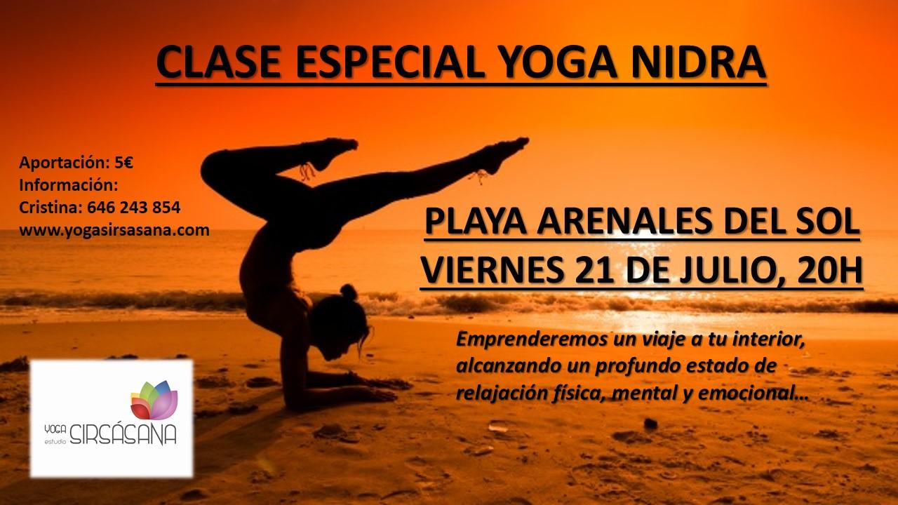 clase especial yoga nidra