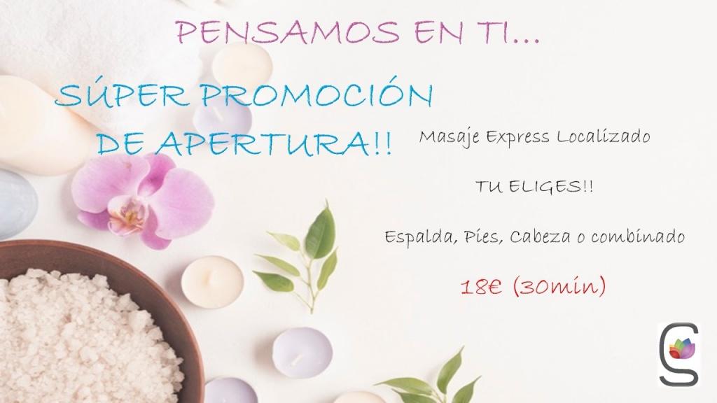 Promoción Masaje Express