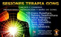7 SESIONES DE TERAPIA DE GONG de la mano de HOPE FORTE