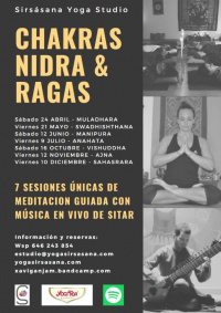 Taller de yoga NIDRA con Xavi Ganjam