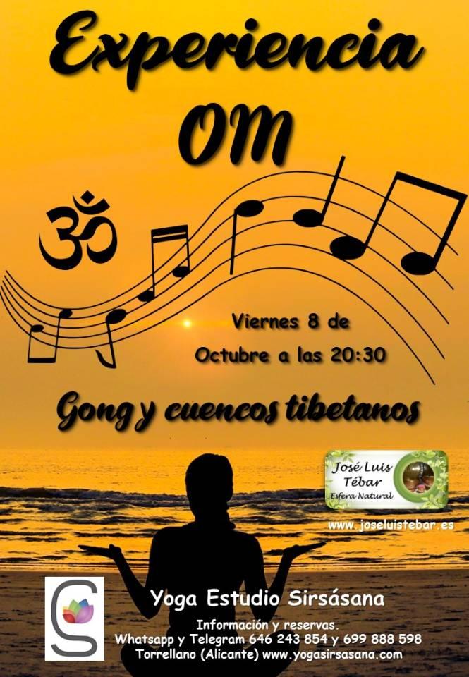 Gong y cuencos tibetanos en Estudio Yoga Sirsasana 2021